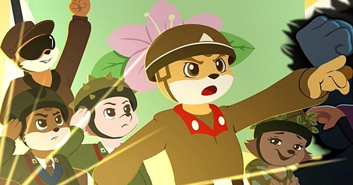 ebb681ed959c 1.jpg?resize=300,169 - 북한 애니메이션에서 묘사한 '각 나라별' 동물 이미지 4가지