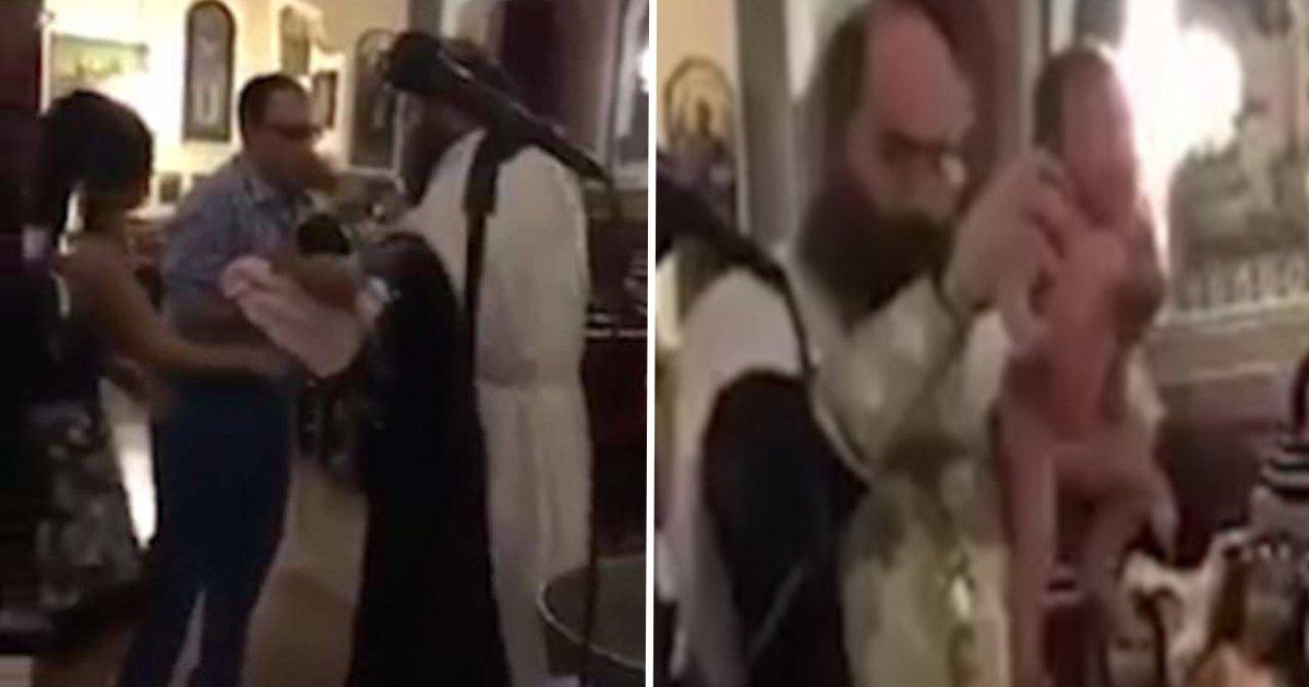 ec82aceba6acec9e90.jpg?resize=300,169 - Clip Showing The Violent Process Of A Bishop Performing Baptism Has Gone Viral On Internet