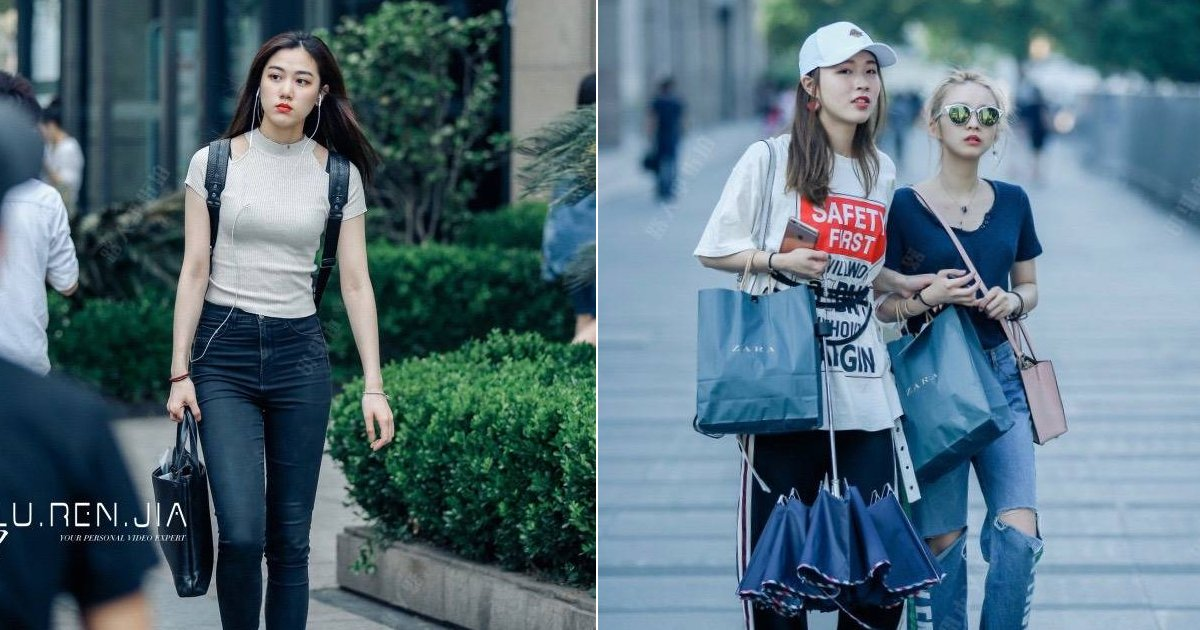 ec8aa4ed8ab8eba6bf 1.jpg?resize=648,365 - '힙스터' 느낌 뿜뿜하는 최신 '중국 여성 스트릿 패션' 모음(+22)