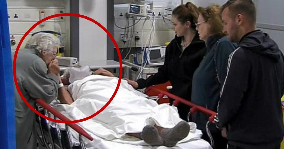 forever love.jpg?resize=1200,630 - Programa de TV deixa espectadores desolados - idosa de 79 anos revela a morte do seu marido