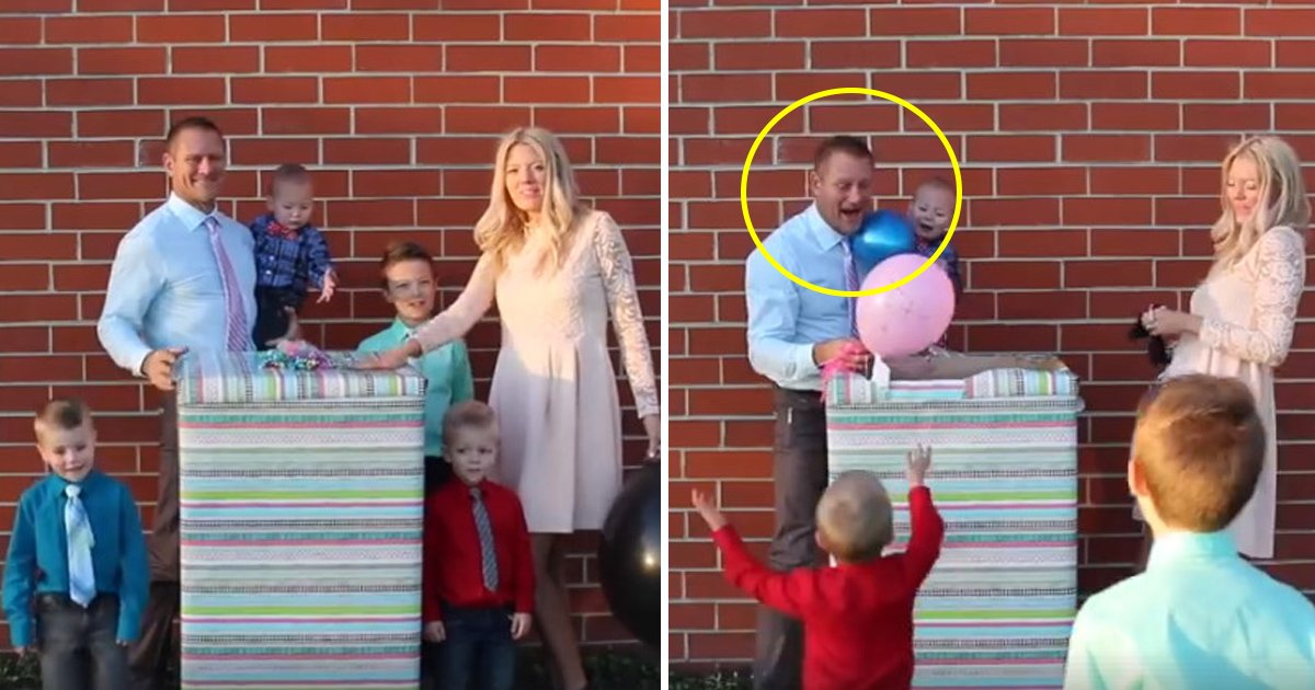 gender.jpg?resize=412,232 - Pregnant Wife Surprised Her Husband With A Gender Revealing Event