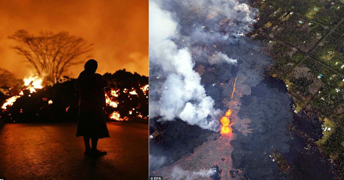 hawaii volcano 1.jpg?resize=300,169 - Hawaii Kilauea Volcano Continues To Billow Ash While The Big Island Records 270 Earthquakes In 1 Day