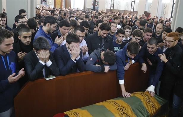 Mohammad al-Chaar funeral. (NOW)
