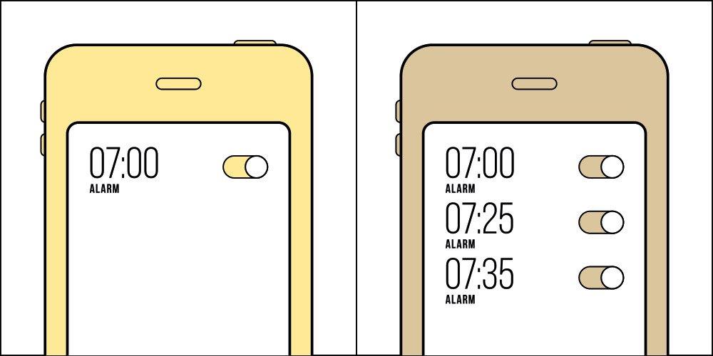 img 5af4d9c742909.png?resize=300,169 - 18 張中肯圖集告訴你:世界上只有這兩種人,你的鬧鐘是哪一種?