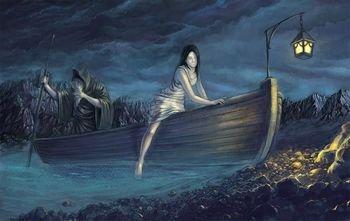 「三途の川 船」の画像検索結果