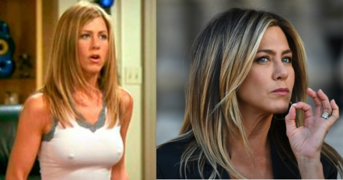 jennifer aniston.jpg?resize=412,275 - Jennifer Aniston Explained Why Her Nipples Were Always Visible On The Set Of 'Friends'