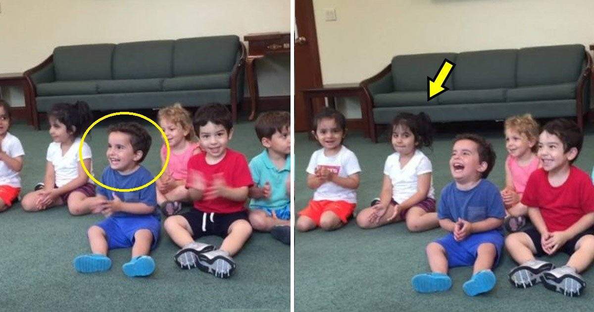 kid.jpg?resize=1200,630 - Little Boy Can't Stop Laughing During Music Class and, Be Warned, It's Contagious