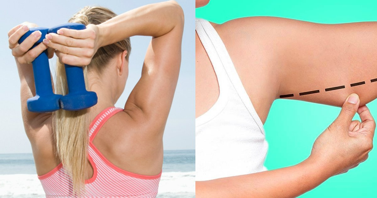 lose arm fat.jpg?resize=648,365 - These 8 Simple Exercises Can Help You Lose Stubborn Arm Fat