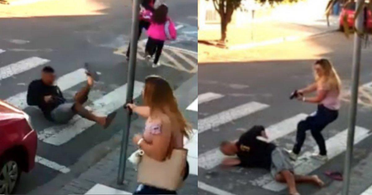 maearmada.png?resize=1200,630 - Vídeo de mulher matando assaltante viraliza no mundo