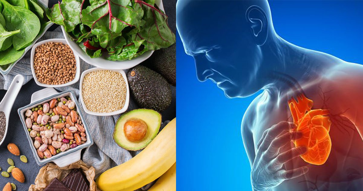 magnesium filled food.jpg?resize=1200,630 - Ces aliments remplis de magnésium peuvent réduire vos risques de faire de l'anxiété, une dépression, une crises cardiaque et plus encore