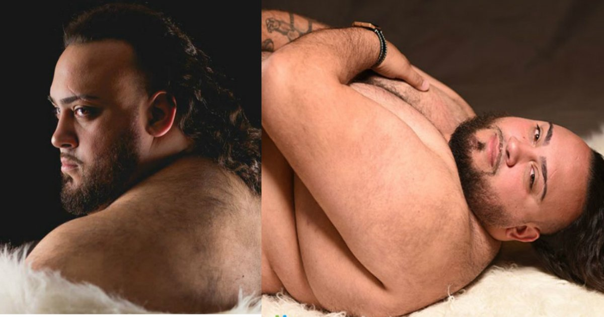 maternity photoshoot.jpg?resize=1200,630 - Sa femme refuse de faire des photos de grossesse, donc son mari la remplacé au pied levé.