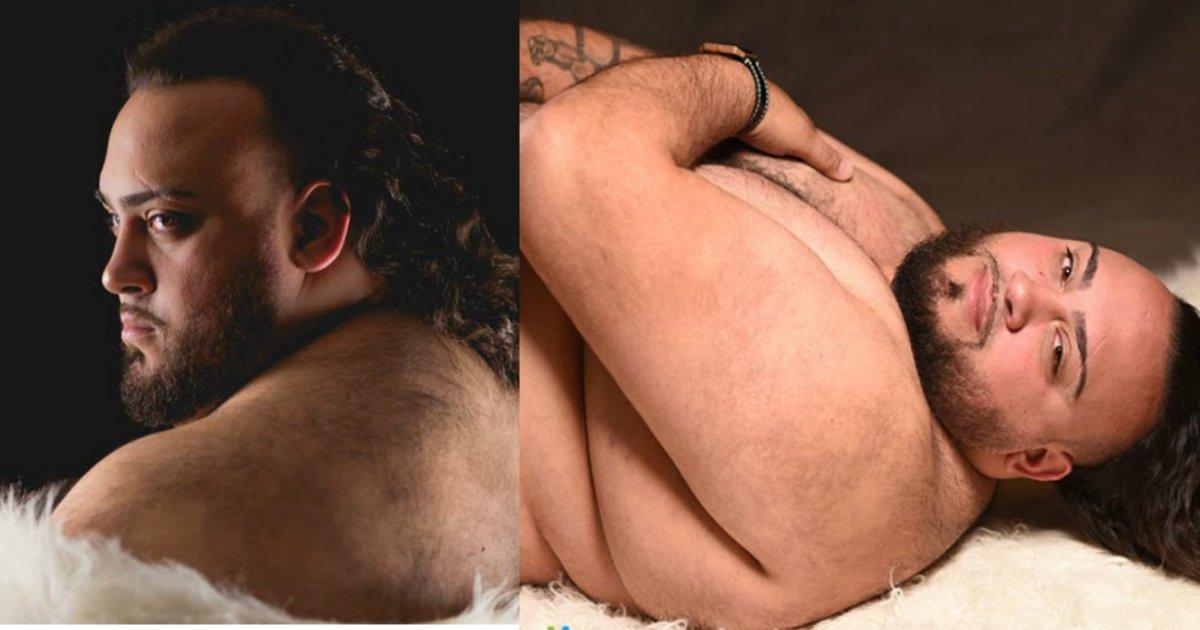 maternity photoshoot.jpg?resize=648,365 - Sa femme refuse de faire des photos de grossesse, donc son mari la remplacé au pied levé.