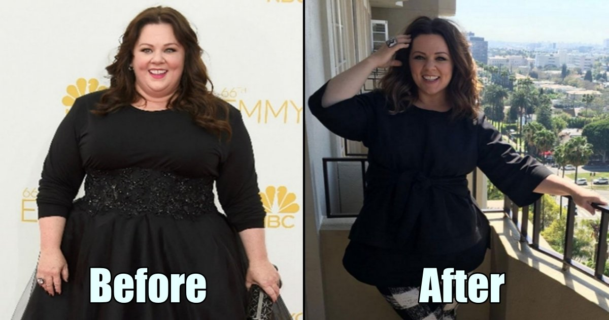 mc side 1.jpg?resize=300,169 - Actress Melissa McCarthy Loses 75 Pounds For A Movie And The Transformation Is Amazing!