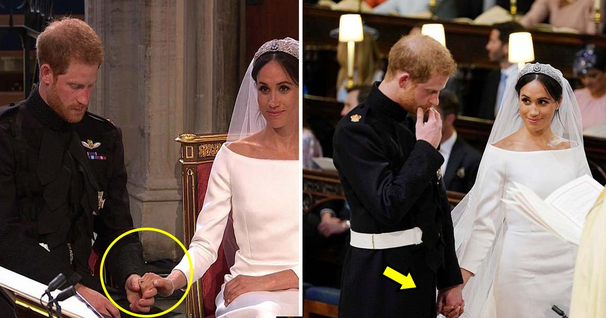 nervous.jpg?resize=732,290 - Body Language Shows How Nervous Prince Harry Was Before The Kiss Of 'Genuine Love'