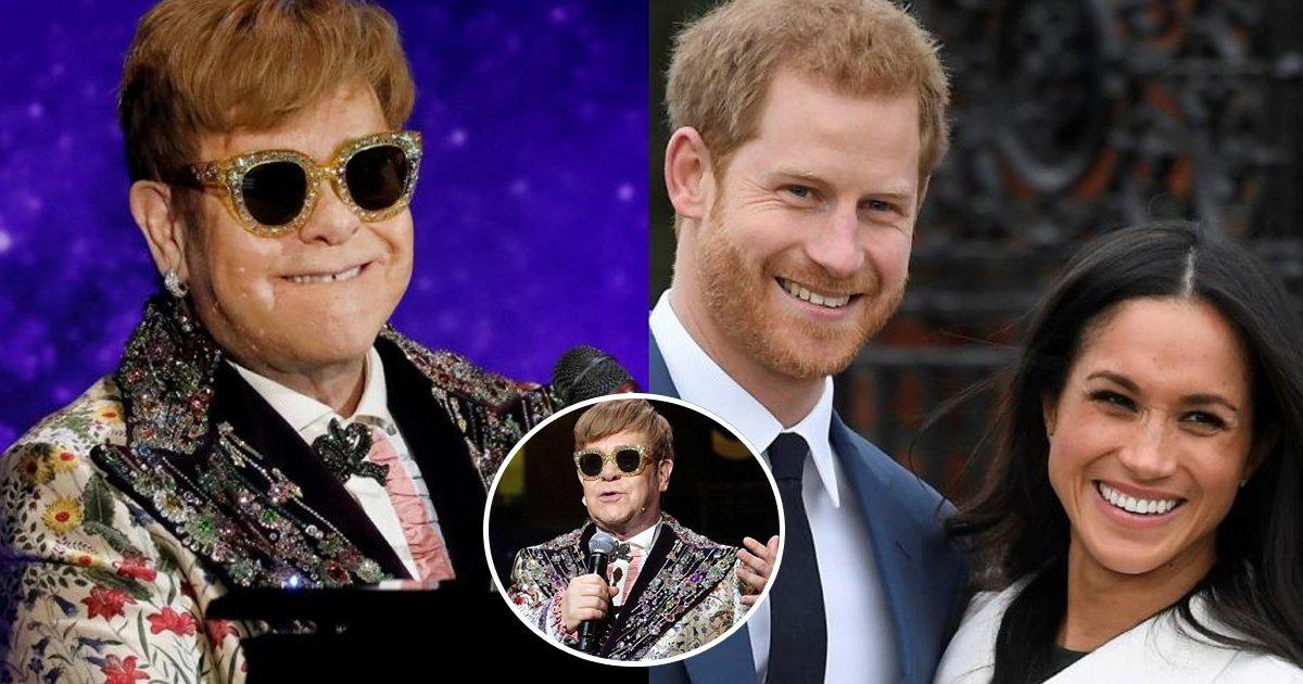 performance.jpg?resize=1200,630 - Le prince Harry a posé une question à Elton John à la réception royale de mariage