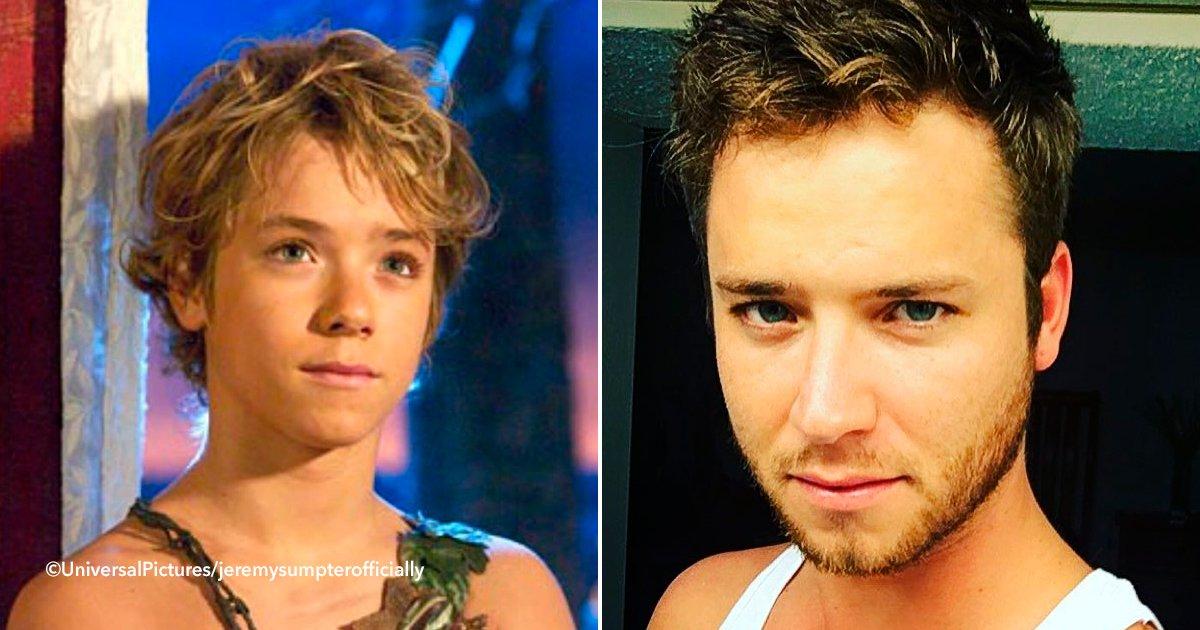 peter.jpg?resize=648,365 - ¿Recuerdas al chico que interpretó a Peter Pan? 14 años después luce más guapo que nunca