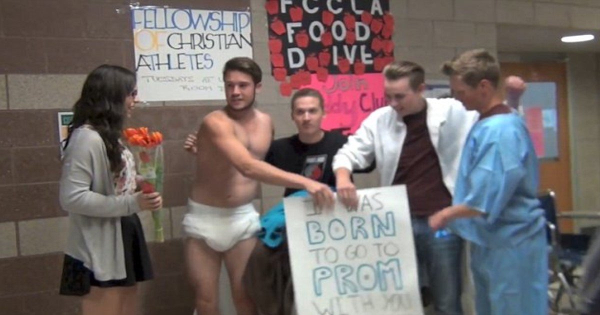 pic copy 3 copy.jpg?resize=300,169 - 'I Was Born To Go To Prom With You': Teen Stages His Own Birth For Promposal
