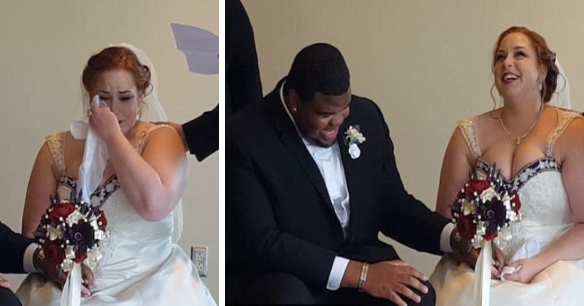 pic copy 4 5.jpg?resize=300,169 - Bride Cries As Late Father's Letter Is Read On Wedding Day. But The P.S. To Groom Makes Her Laugh Hard