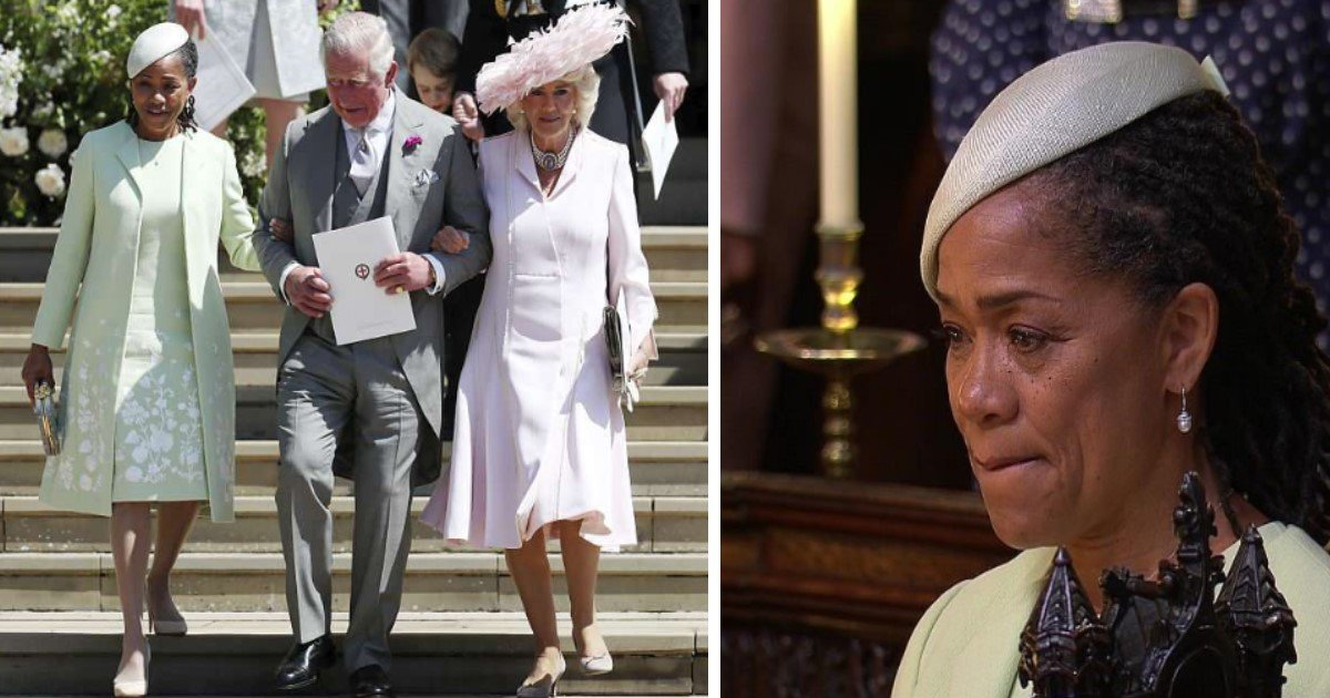 pic copy 5 2.jpg?resize=412,232 - Meghan Markle's Proud American Mother Holds Hands With Prince Charles After Sitting Alone During The Emotional Ceremony