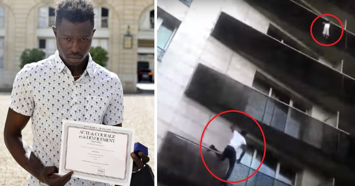 pic copy 5 3.jpg?resize=300,169 - Illegal Immigrant Climbs Up Four Balconies Of Paris Apartment To Save A Dangling Child