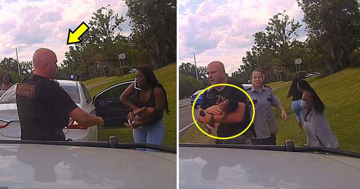 police.jpg?resize=1200,630 - Un policier en repos sauve la vie d'un bébé après qu'il soit inconscient dans la voiture de sa mère