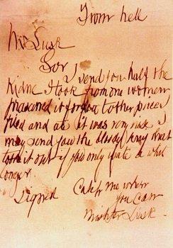 切り裂きジャック 犯行声明에 대한 이미지 검색결과