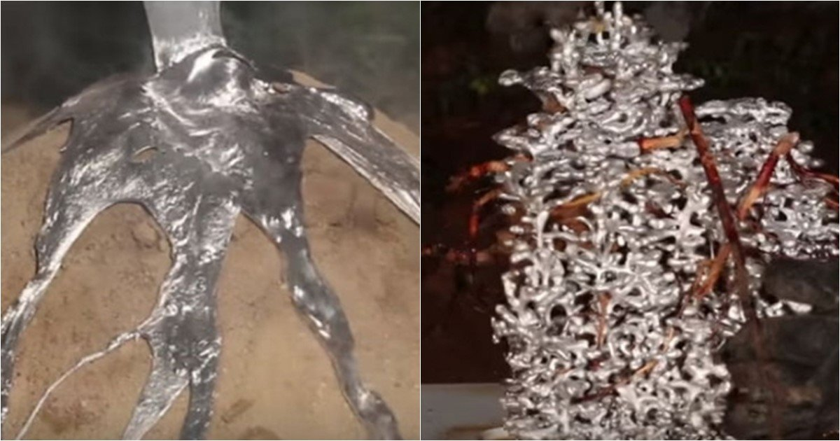 s 65.jpg?resize=648,365 - Amazing Result From Pouring Liquid Aluminium Into An Empty Ant Hill