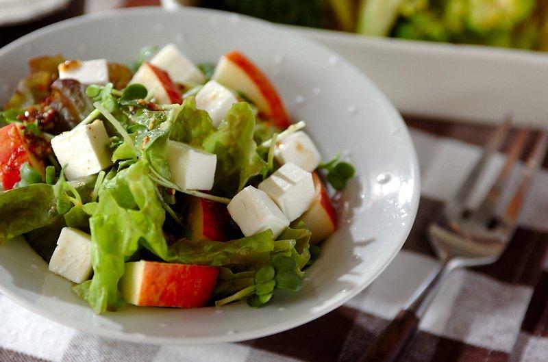 「サラダ チーズ」の画像検索結果