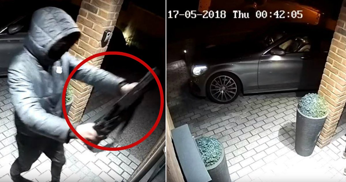 stealing car.jpg?resize=1200,630 - BMW Stolen In 23 Seconds! Thieves Caught On Camera Using Hi-Tech Device