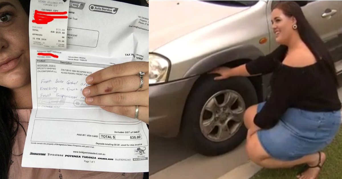stranger help.jpg?resize=412,232 - Un étranger demande à une dame sur le parking du McDonald's de le suivre et l'aide généreusement