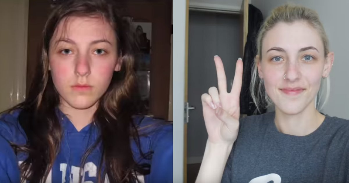 subtle changes.jpg?resize=300,169 - Teen Girl Takes Daily Selfies For 8 Years And Shows How She Changes