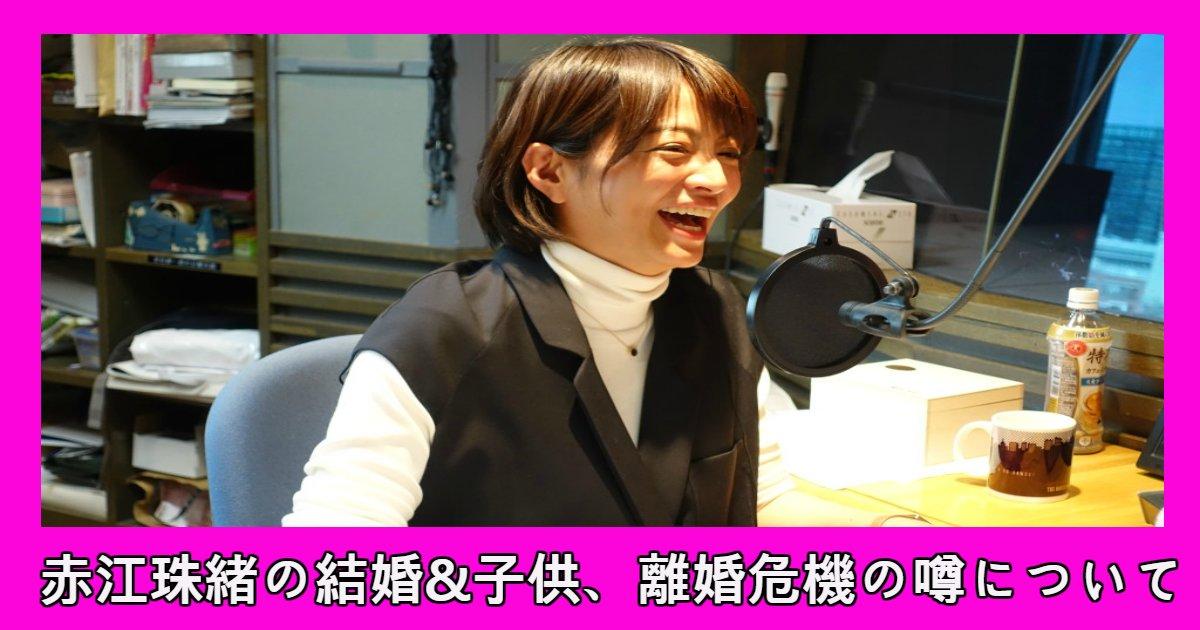 tamao 1.png?resize=648,365 - 人気フリーアナウンサー・赤江珠緒の結婚と子供、離婚危機の噂について