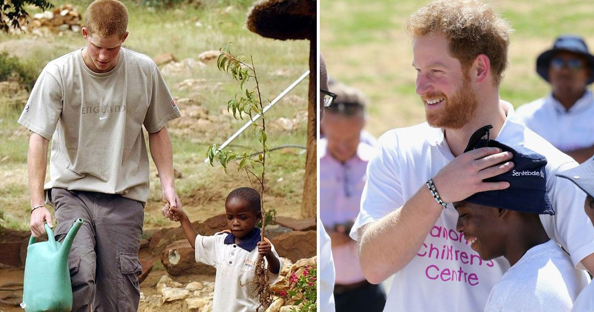 untitled 1 100.jpg?resize=412,232 - Prince Harry Invited An African Orphan Boy To The Royal Wedding Who He Met 14 Years Ago