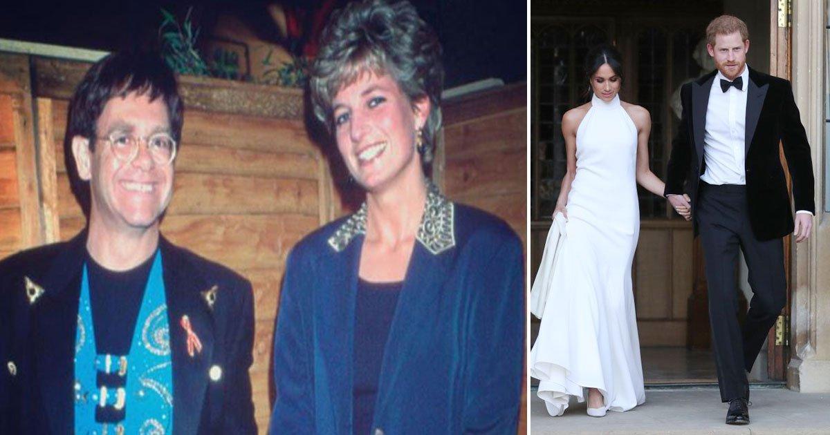 untitled 1 109.jpg?resize=1200,630 - Pour son mariage, le prince Harry a fait une demande personnelle à l'ami proche de Diana, Sir Elton John.