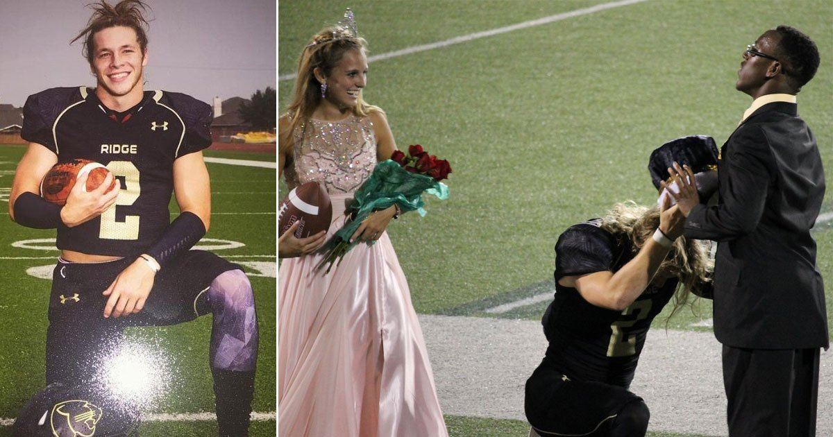 untitled 1 131.jpg?resize=412,232 - Touching Moment Homecoming King Gives His Crown To A Friend Who Suffers From Cerebral palsy