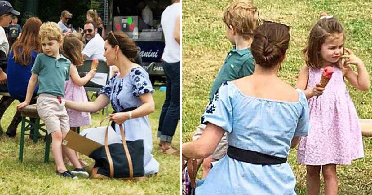 untitled 1 154.jpg?resize=300,169 - Kate Middleton a profité d'une journée en famille avec le Prince George et la princesse Charlotte.