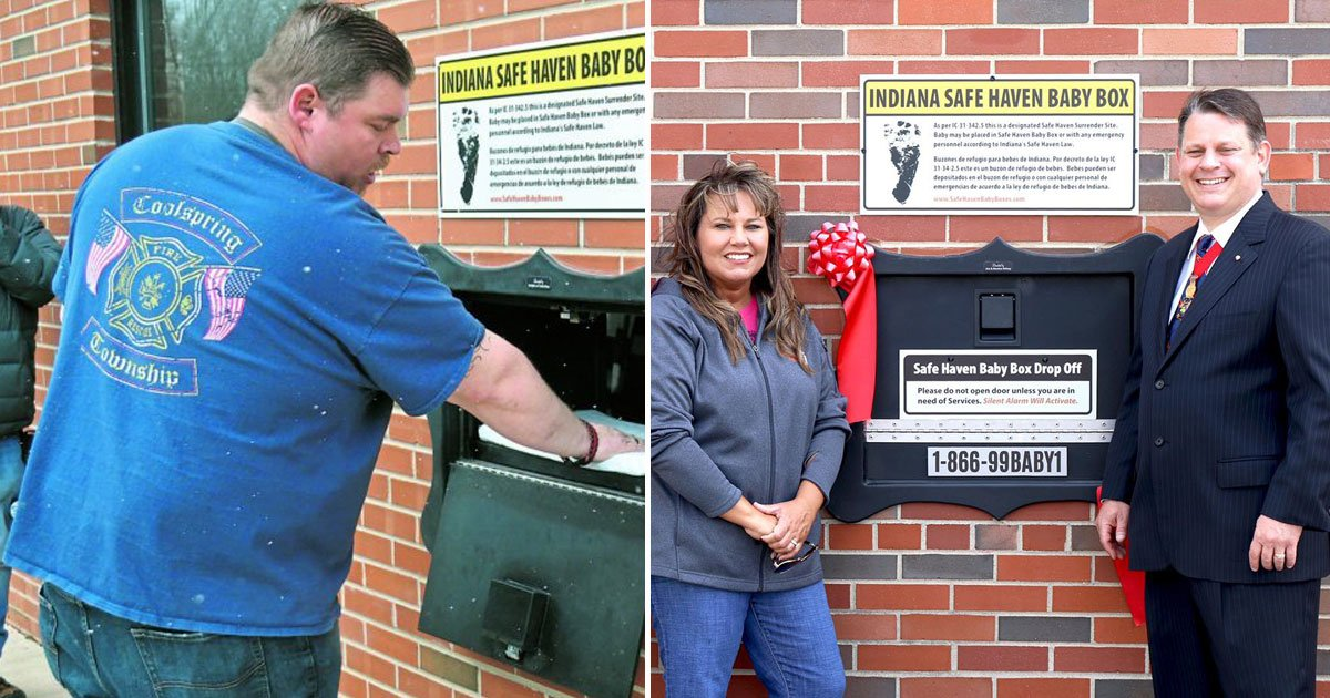 untitled 1 18.jpg?resize=636,358 - Fire Department Installs 'Baby Box'- And It Is The Best Decision Ever Made