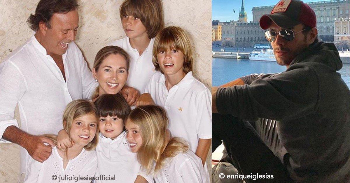 untitled 1 2.jpg?resize=300,169 - El cantante Julio Iglesias declaró que de sus 8 hijos uno no recibirá herencia, es más que claro que será su hijo Enrique
