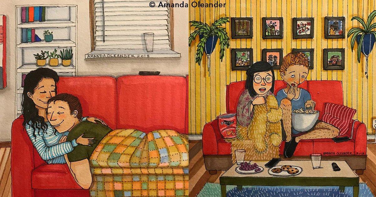 untitled 1 29.jpg?resize=1200,630 - 22 geniales ilustraciones que demuestran lo que pasa en la intimidad con nuestra pareja y que nos hace estar más juntos.