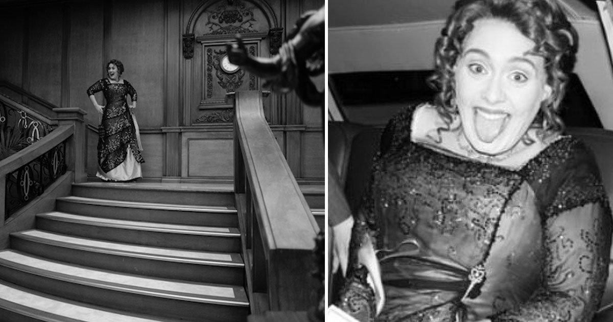 untitled 1 35.jpg?resize=1200,630 - Adele fête ses 30 ans sur le thème du Titanic et suscite l'indignation parmi les fans.