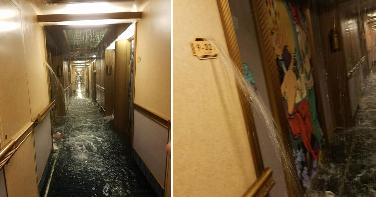 untitled 1 36.jpg?resize=648,365 - Carnival Cruise Water Line Breaks, Floods 50 Rooms, Forcing Passengers To Sleep On Yoga Mats