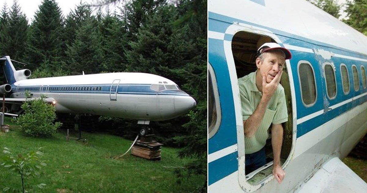 untitled 1 45.jpg?resize=412,232 - [vidéo] Un homme rachète un Boeing727 abandonné pour 100 000 $ et le convertit en maison.