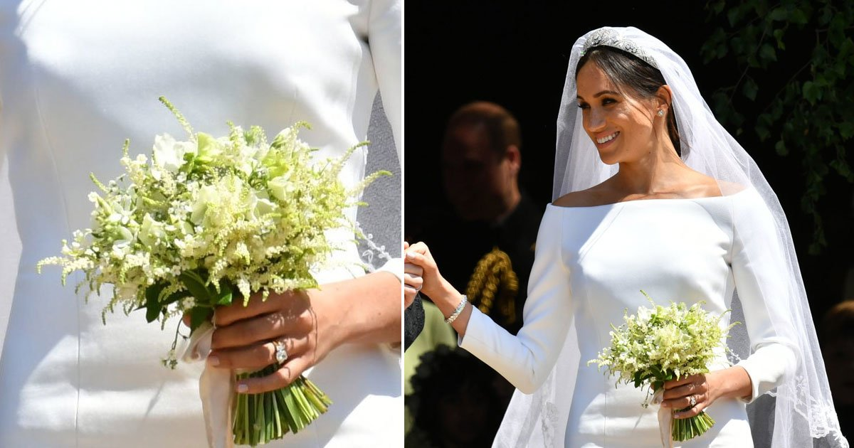 untitled 1 88.jpg?resize=300,169 - Prince Harry Picked Flowers for Meghan Markle's Bouquet — Plus, the Sweet Tribute to Princess Diana
