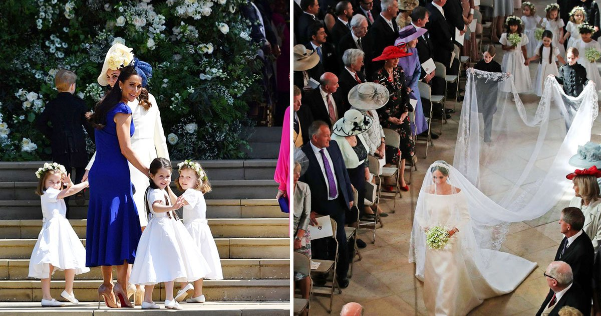 untitled 1 89.jpg?resize=366,290 - Royal Wedding: Meghan's Adorable Flower Girls And Page Boys Stole Everyone's Heart
