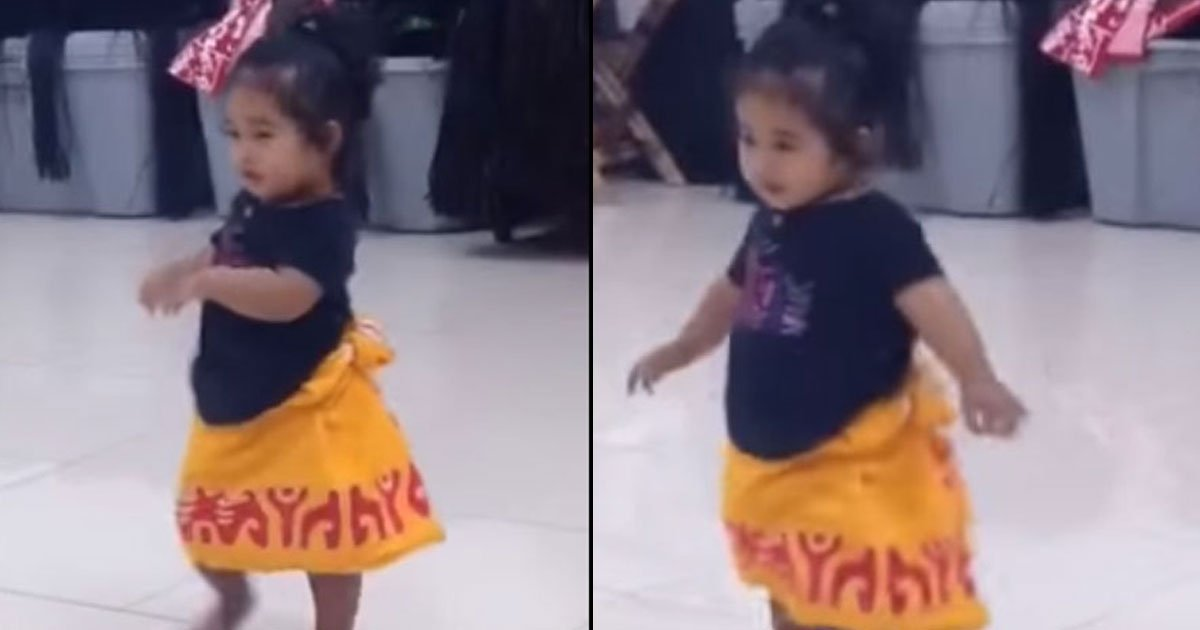 untitled 1 98.jpg?resize=1200,630 - Adorable Toddler Showed Off Her Dance Moves And Won The Internet