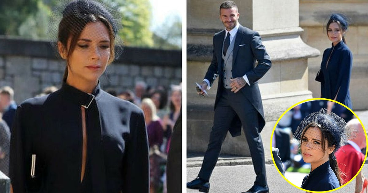 victoria.jpg?resize=1200,630 - Victoria Beckham a choqué avec son attitude au mariage royal