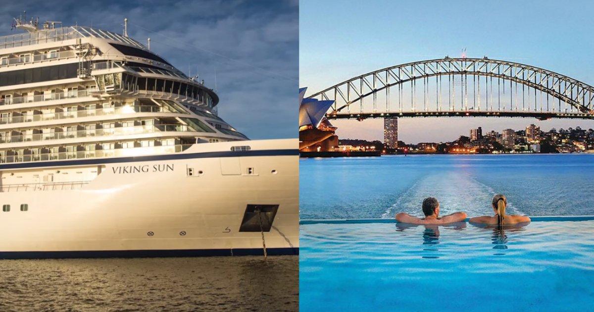 viking sun.jpg?resize=1200,630 - This Beautiful Cruise Will Take You Around The Globe, Visiting 59 Countries!