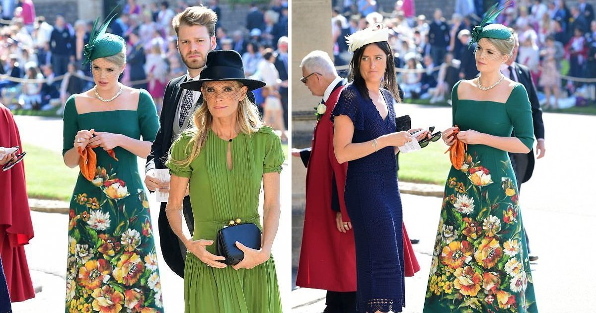 wedding 2.jpg?resize=412,232 - Lady Kitty Spencer Looked Stunning In Dolce & Gabbana Dress At Royal Wedding