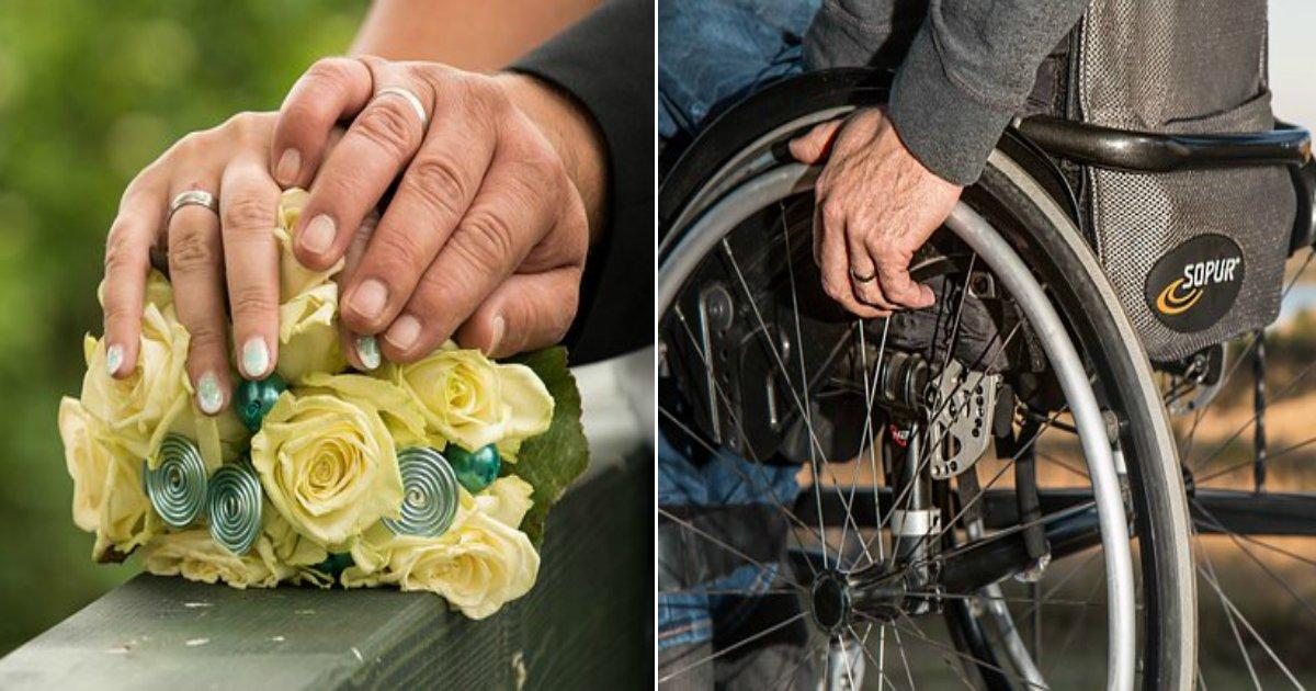 wheelchair 749985  340.jpg?resize=412,232 - 교통사고로 '두 팔' 잃은 뒤 남편에게 '보험금' 뺏기고 버림받은 여성의 '비극적'인 사연