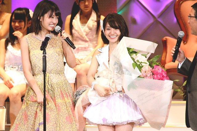 「大島優子 ギンガムチェック 総選挙」の画像検索結果